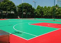 拼装地板球场