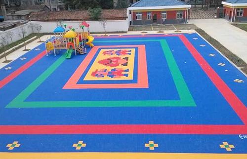 东方幼儿园悬浮拼装地板