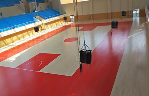 广西理工学校体育馆运动木地板