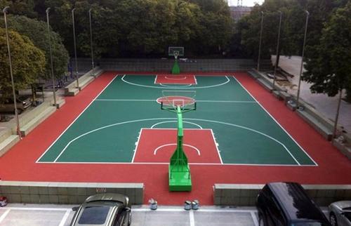 桂林工务段硅PU球场
