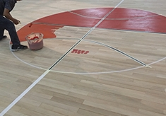 木地板翻新施工