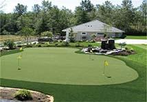 人造草高尔夫球场