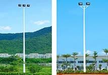 羽毛球场灯杆
