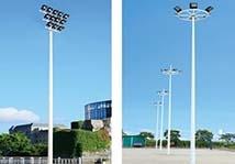 足球场灯杆