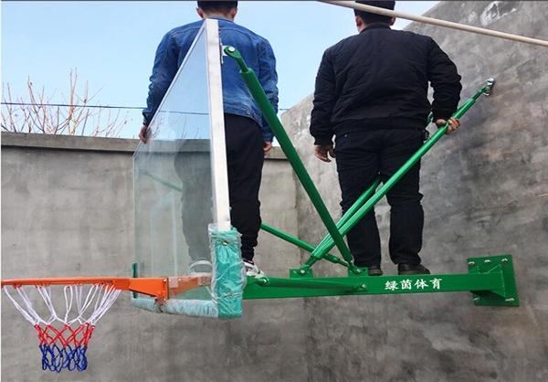 LY-1012挂壁式篮球架