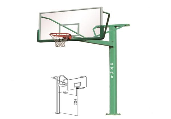LY-1009T字型篮球架