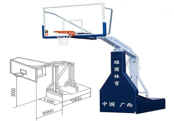 LY1002-电动液压篮球架